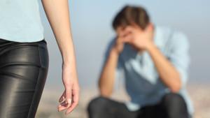 Disputa entre los miembros de una pareja