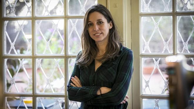 La escritora y periodista Llucia Ramis, autora de Les possessions, Premi Anagrama.