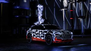 Presentación del Audi e-tron en Berlín.