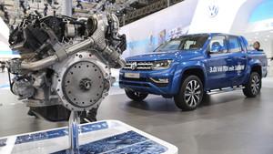 Motor diésel V6 de Volkswagen en el modelo Amarok.