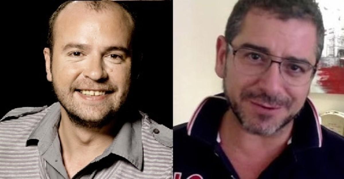"""Juan Ochoa y Miguel Coll, animadores de """"Carrusel deportivo"""""""