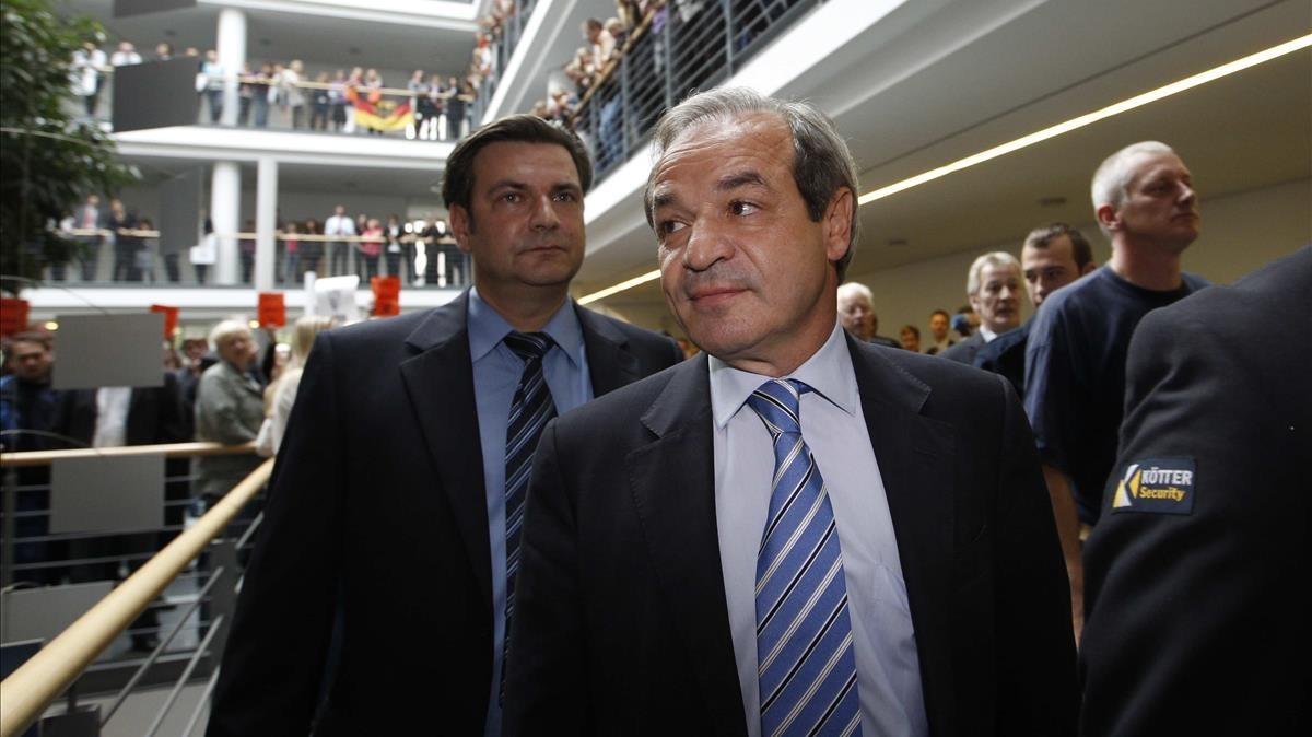 Marcelino Fernández Verdes, consejero delegado de ACS yHochtief.