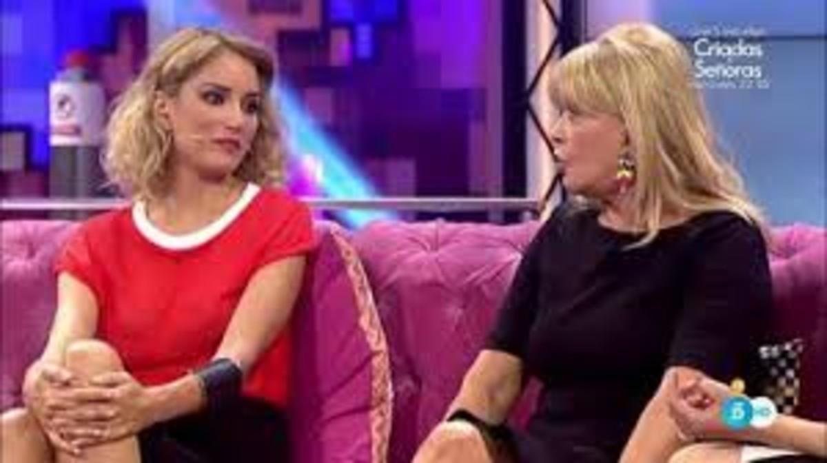 Alba Carrillo y Bárbara Rey, en 'Hable con ellas'.