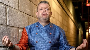 Alberto Chicote, en una imagen promocional de la sexta temporada de Pesadilla en la cocina.