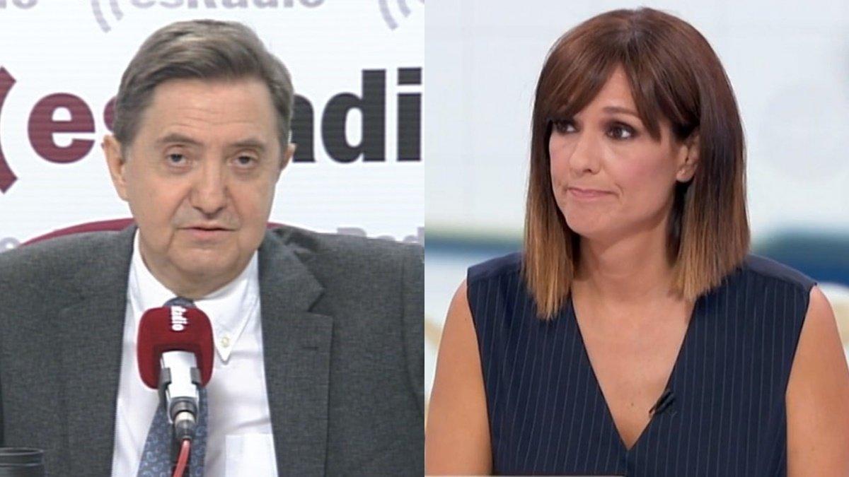 """Jiménez Losantos arremete contra Mónica López: """"No va a durar mucho tiempo"""""""
