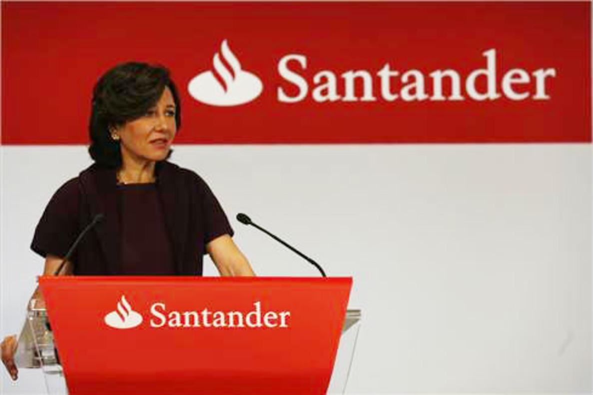 AnaBotín, presidenta del Banco Santander.