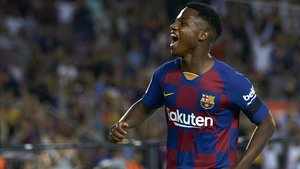 Ansu Fati regresa al once titular del Barça.