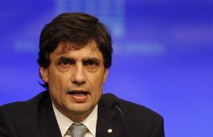 Hernán Lacunza, ministro de Hacienda de Argentina.
