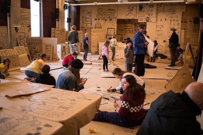 Barcelona Dibuixa: ¡dibuixeu, vinga, dibuixeu!