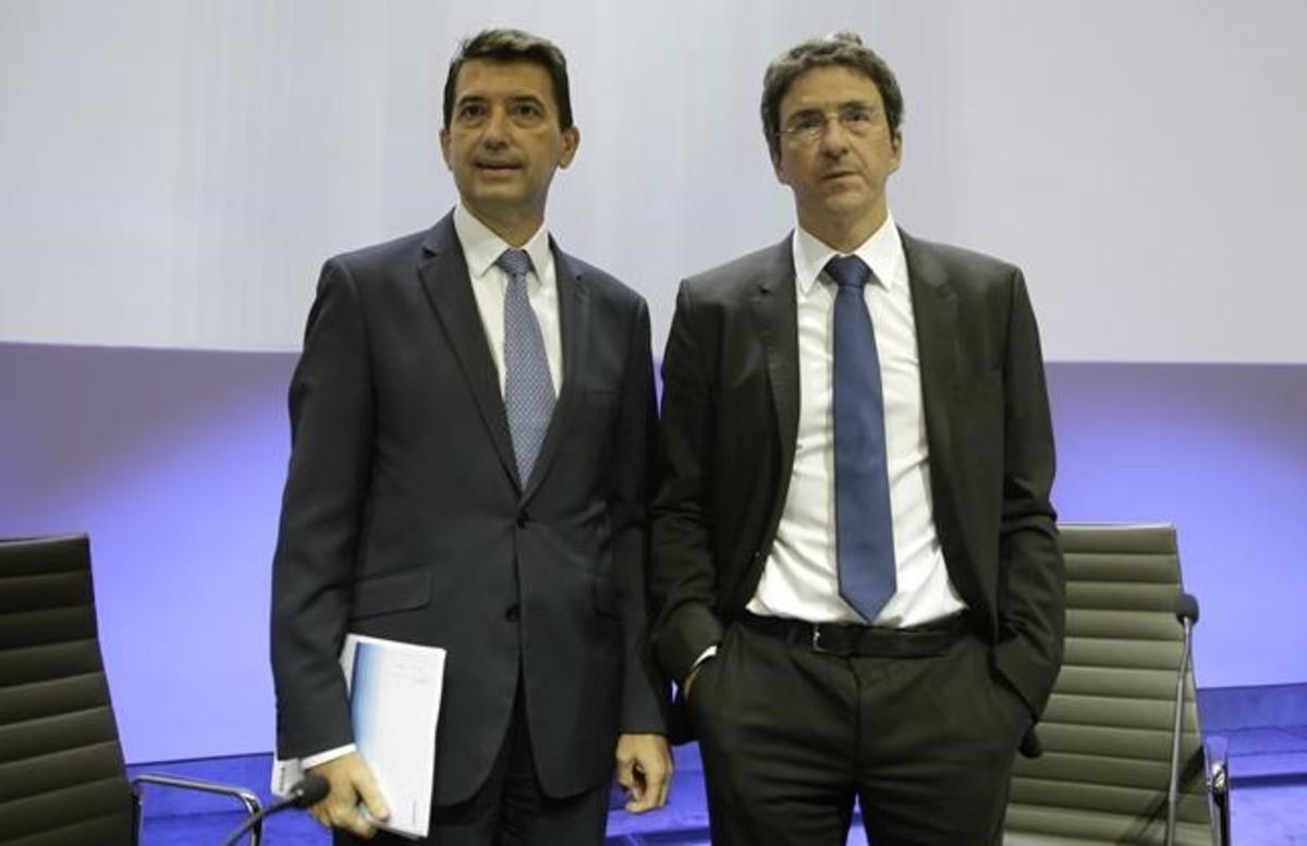 Los economistas del servicio de estudios del BBVA Jorge Sicilia y Rafael Domenech en una imagen de archivo.