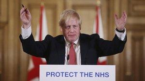 El primero ministro británico, Boris Johnson, en una fotografía del pasado 22 de marzo.