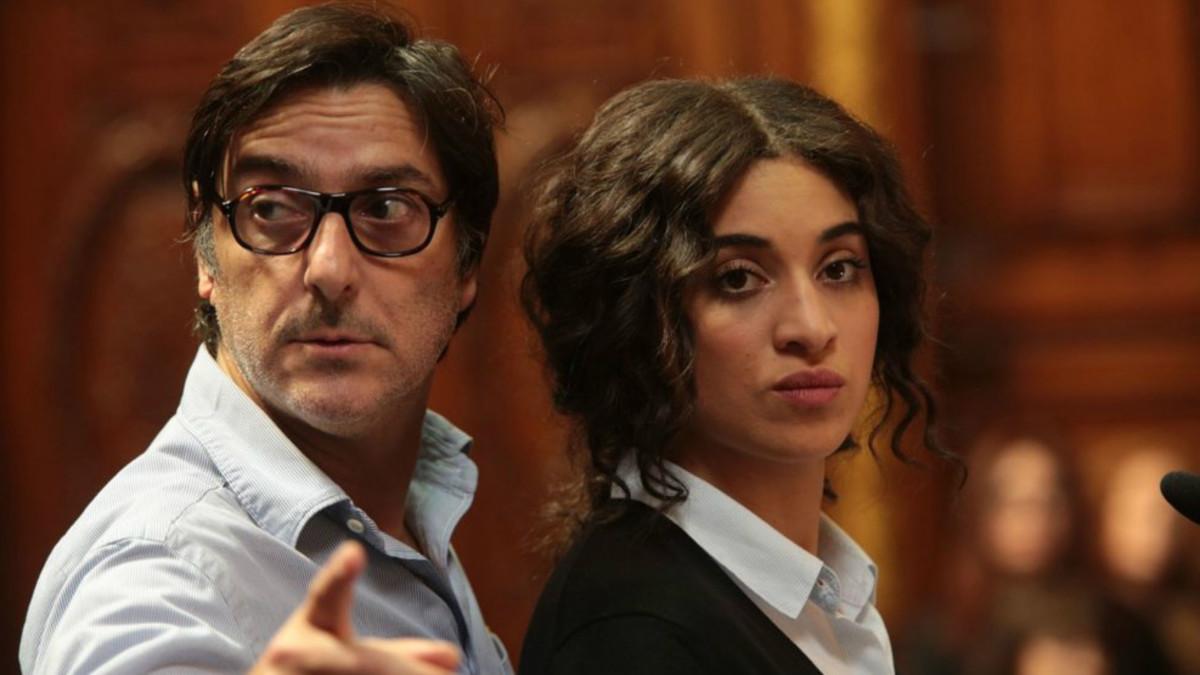 Camélia Jordana y Daniel Auteuil, en un fotograma de Una razón brillante