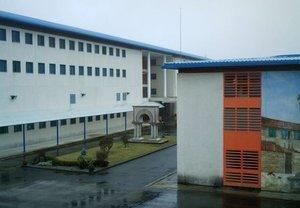 La cárcel de A Lama, en Pontevedra.