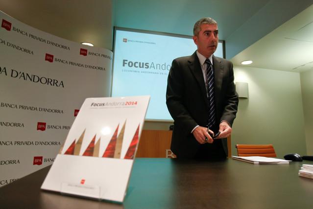El exconsejero delegado de BPA Joan Pau Miquel, en una imagen de archivo, en Andorra.