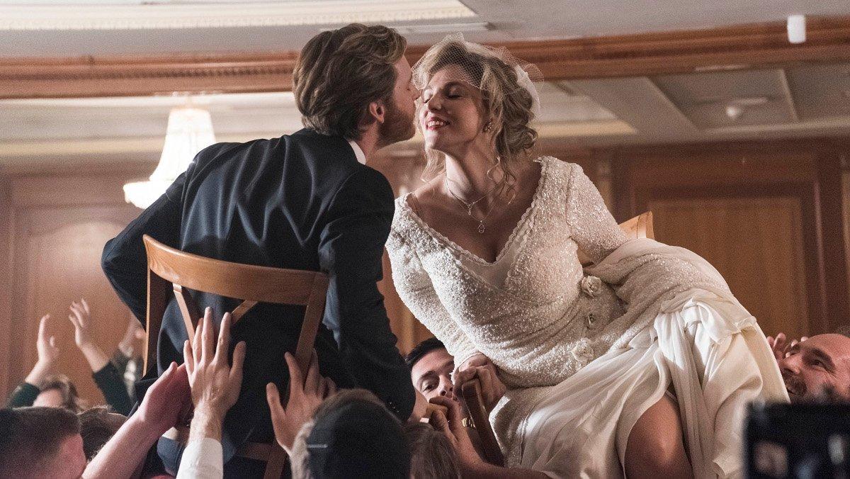 La boda de Toni y Deborah, en 'Cuéntame cómo pasó'.