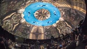 Cúpula inmersiva de 360 grados en el Sónar+D