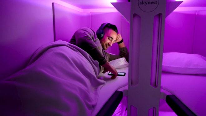 Vols en llitera, la nova aposta d'Air New Zealand per a la classe turista