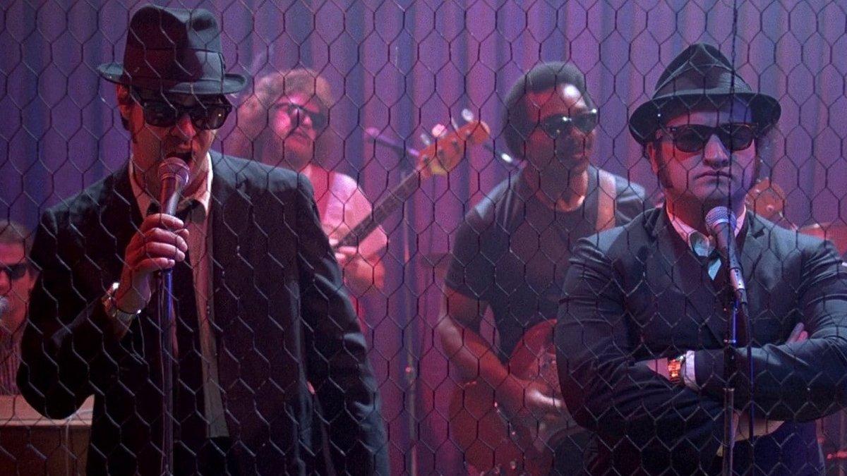 Dan Aykroyd y John Belushi, en un fotograma de 'Granujas a todo ritmo'