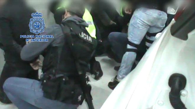 Desarticulado un grupo criminal que fingía ser la Guardia Civil.