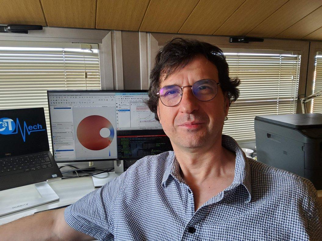 El profesor de la UPC de Terrassa, Robert Castilla.