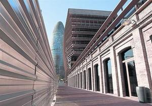 Edificio de la Comisión Nacional de las Telecomunicaciones en el 22@.