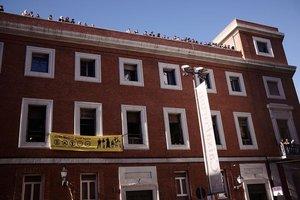 El edificio del centro social La Ingobernable.