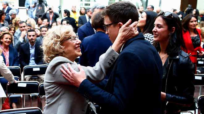 Errejón concurrirá con la plataforma de Carmena a las elecciones.