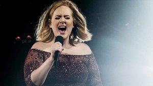 Una imagen de archivo de Adele.