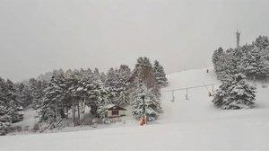 La estación de esquí de La Molina, el pasado viernes.