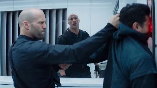 Estrenos de la semana. Tráiler de 'Fast & Furious: Hobbs & Shaw'.