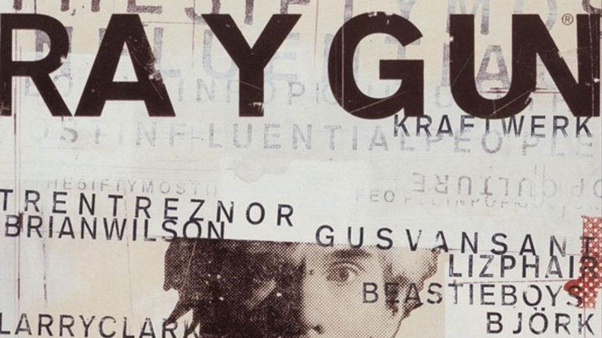Revista 'Ray Gun', proyecto de David Carson.