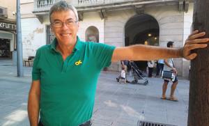 Francesc Teixidó, alcaldable por Esquerra Republicana en Mataró.