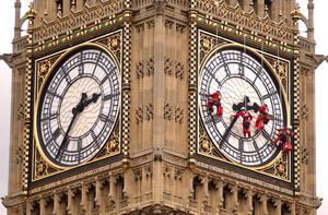 Fachada del Big Ben, en Londres.