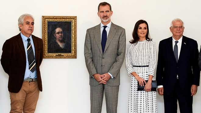 Los reyes de España en su visita a la Habana.