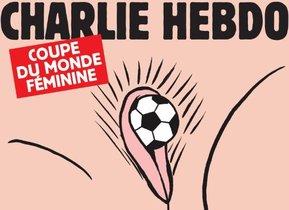 La portada sexista de 'Charlie Hebdo' amb motiu del Mundial femení de futbol