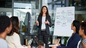 Mujeres en la escuela de negocios IESE.