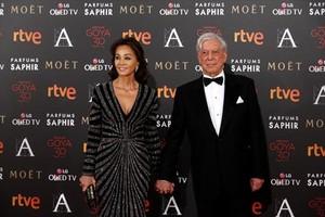Isabel Preysler y Mario Vargas Llosa, en la entrega de los Premios Goya 2016.