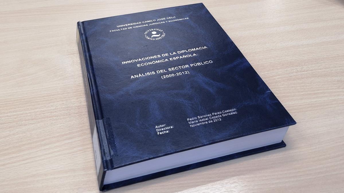 La Camilo José Cela confirma que l'avaluació de la tesi de Sánchez es va ajustar a la normativa