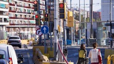 La vuelta a Glòries en 80 semáforos