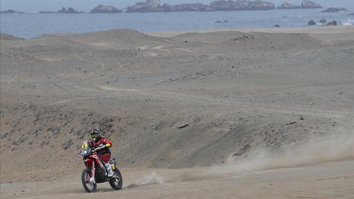 Barreda abandona el Dakar i Sainz es queda sense opcions