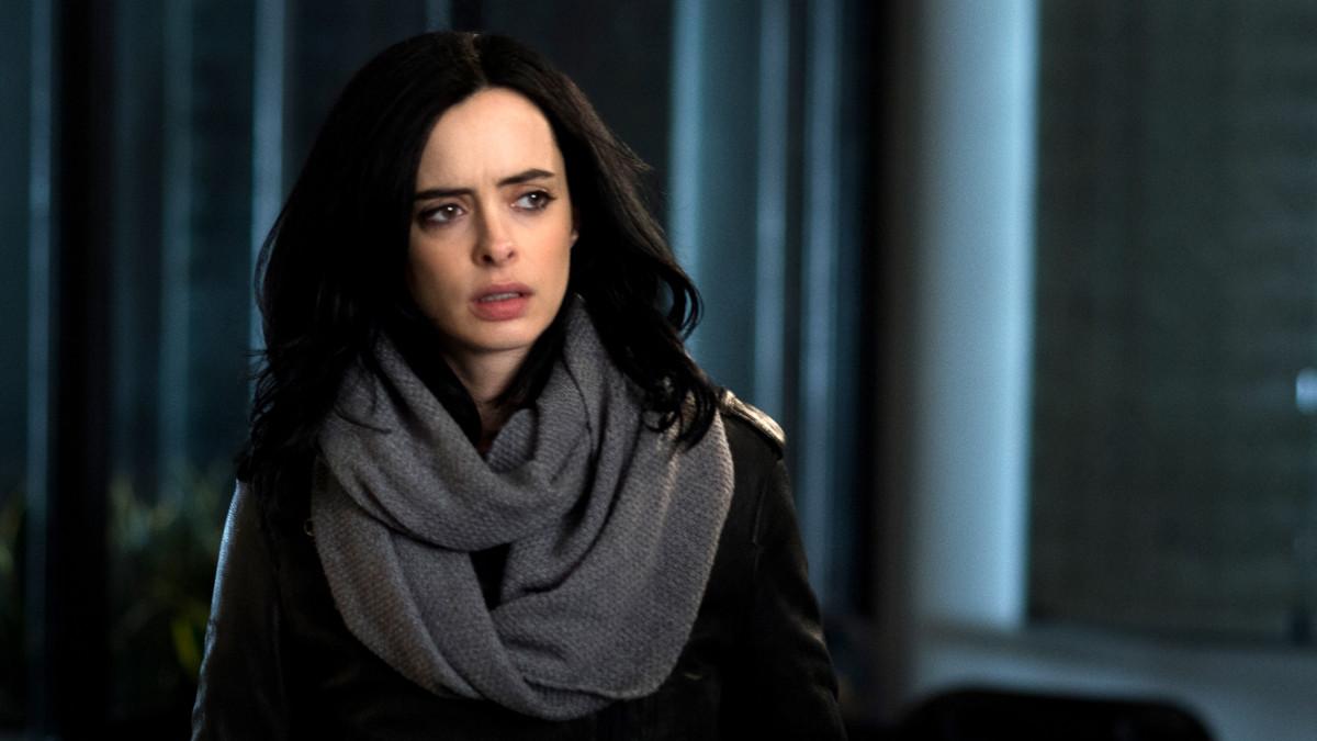 La actriz Krysten Ritter, en una imagen de la serie 'Jessica Jones'.