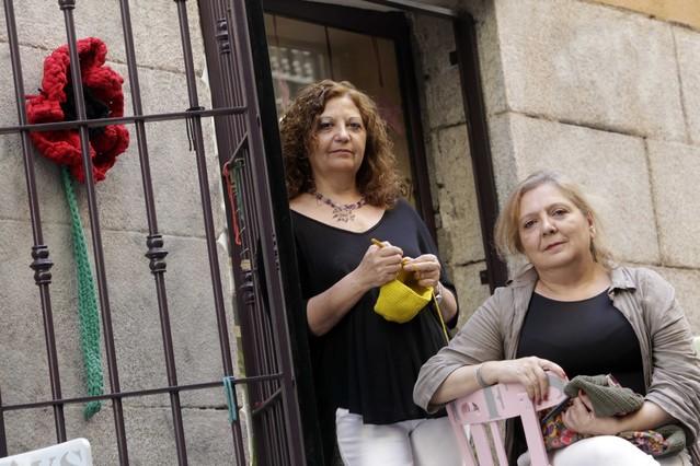 Julia de Juanes y Antonia Herrador.