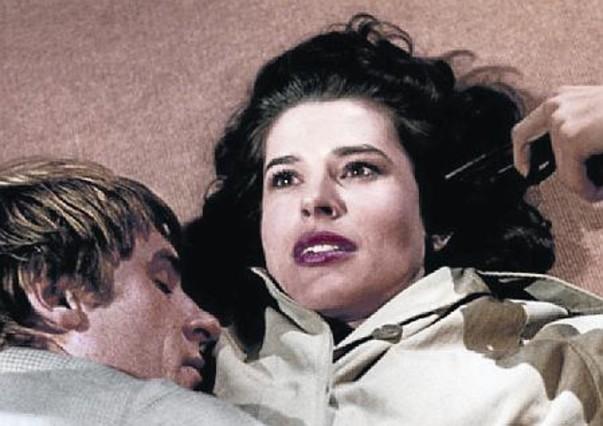 LÁPIZ, ACUARELA Y TINTA 3Truffaut y su actor fetiche, Jean-Pierre Léaud (derecha), que encarnó al personaje de Antoine Doinel, el álter ego del cineasta, bajo el pincel de Bonet.