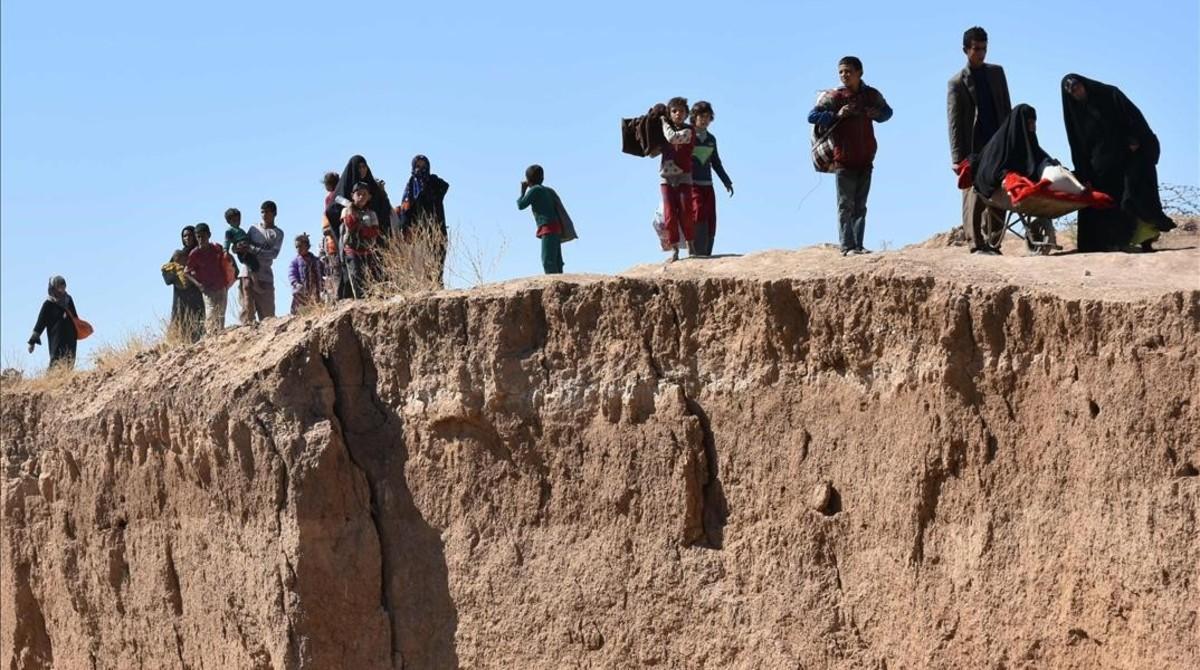 Las fuerzas de Irak han anunciado este jueves la toma de la localidad de Hawija.
