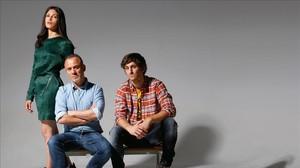 Els protagonistes de 'La isla mínima'. Foto: Luis Rubio