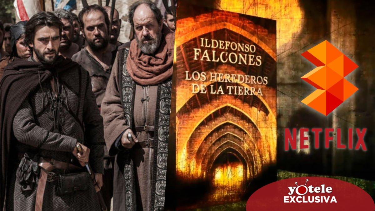 'Los herrederos de la tierra', ellibro de Idelfonso Falcones que adaptara Atresmedia Televisión y Netflix