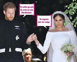 Los mejoes memes de la boda de Harry y Meghan.