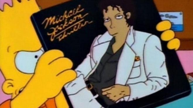 Los Simpson retiran el capítulo en el que aparece la voz de Michael Jackson.