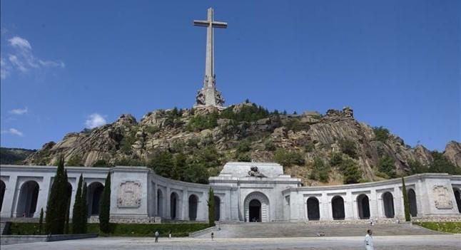 El Valle de los Caídos, en el valle de Cuelgamuros, en San Lorenzo del Escorial (Madrid)