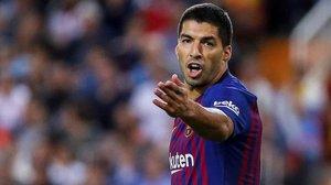 Luis Suárez vive su mejor momento goleador de la temporada.